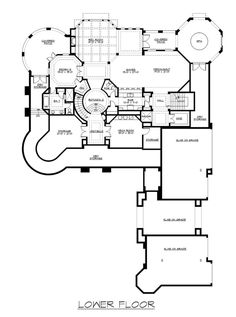 House plans, award winning custom & spec residential architecture since Street of Dreams Best in Show, affordable stock plans, customizable home designs. Luxury Floor Plans, Luxury House Plans, Dream House Plans, House Floor Plans, Luxury Houses, Three Story House, Huge Houses, Dream Houses, Dream Mansion