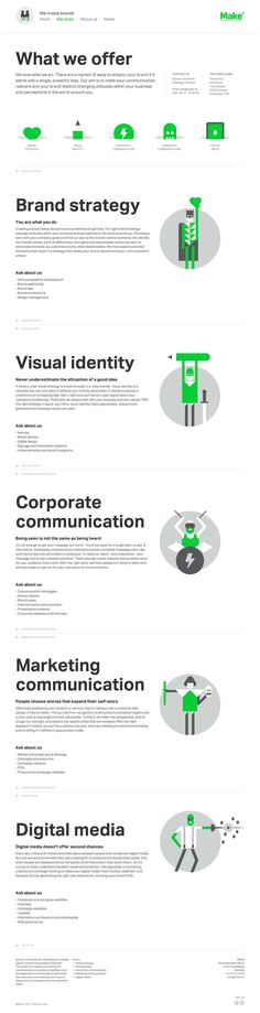 Good idea for work...an infographic of our products/services