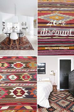 SPECIAL SUMMER OFFER: 40 % DISCOUNT ON ALL KILIM RUGS | THE STYLE FILES