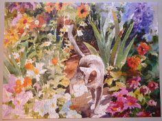 judy blain | Stroll through the garden (Judith Blain)