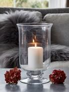 Artisan Glass Hurricane Lamp