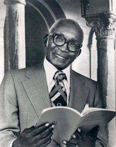 """Jester Hairston, an African American choral composer and actor, was born on July 9, 1901. As one of the greatest choral music directors, Hairston composed or arranged more than 300 gospel spirituals in films such as """"Green Pastures"""" and """"She Wore a Yellow Ribbon."""" One of the first black actors in the Screen Actors Guild, among his notable works was the song """"Amen"""" from the Sidney Poitier film, """"Lilies of the Field."""""""