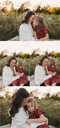Mom Daughter Photography, Mommy Daughter Pictures, Mother Daughter Pictures, Mommy And Me Photo Shoot, Girl Photo Shoots, Fall Family Photos, Kid Photos, Little Girl Photos, Outdoor Family Photography