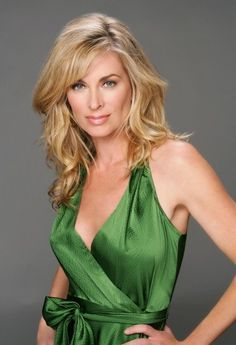 Daytime Dial: Interview YR: Eileen Davidson Shows Off Her Inner Diva Eileen Davidson, Bold And The Beautiful, Gorgeous Women, Beautiful People, Beverly Hills, Beauté Blonde, Young And The Restless, Days Of Our Lives, Celebs