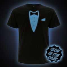 Blue Glow in the Dark Tuxedo Dinner Jacket Dinner Jacket, Polo Shirt, T Shirt, Tuxedo, The Darkest, Glow, Mens Tops, Jackets, Clothes