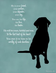 Custom Dog Quote Wall Art Print Dog Quote Pet by sincerelyally
