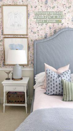 Girls Bedroom, Bedrooms, Little Girl Rooms, Bedroom Inspo, New Room, Room Inspiration, Guest Room, Bed Pillows, Room Decor