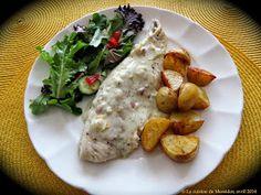 La cuisine de Messidor: Filets de doré, sauce à la crème et à l'estragon
