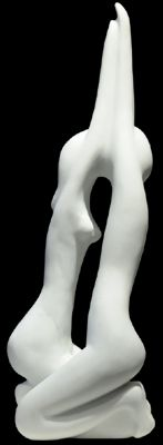 """Promise"" by Daniel Newman, Original White Colorado Marble"