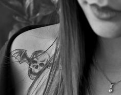 Cute death bat tattoo - Avenged Sevenfold