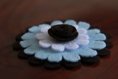 Little Things Bring Smiles: . Felt Flowers, Little Things, Bring It On, Desserts, Fun, Crafts, Felting, Charlotte, Quilts