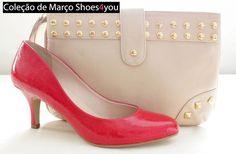bolsa e sapato by Shoes4you <3  http://shoes4you.com.br