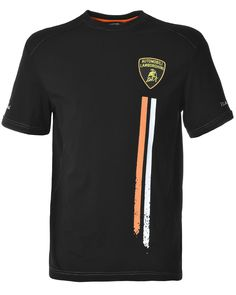 3XL T-Shirt Silver Star Polo Noir Logo Homme T-Shirt Emblem Auto Moto