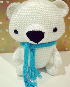 I think the blue scarf bear has a cheekier face than yellow scarf bear...