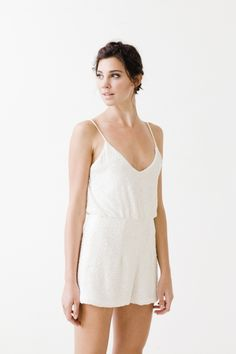 'Astor' Romper from Sarah Seven Wedding Dresses 2015