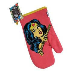 Luva de Cozinha Mulher-Maravilha / Wonder Woman - DC Comics
