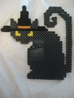 Witchy Kitty by PerlerHime on DeviantArt