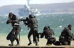 German Navy SEALs (Kampfschwimmer).