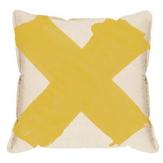 X marks the spot where you can give your sofa a colour pick me up by nabbing this bright cushion cover, screen printed, sewn and packed by hand from local designers Pony Rider.