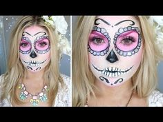 Sugar Skull Makeup Tutorial ♡ Shaaanxo