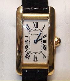 Cartier Tank Americaine #skjwatches #themews #watch #cartier