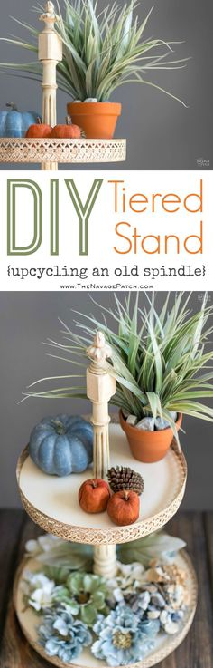 DIY Tiered Stand | H