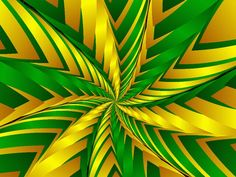 love, love, love this green and yellow Fractal