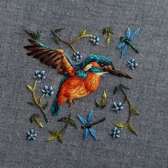 Marvelous Crewel Embroidery Long Short Soft Shading In Colors Ideas. Enchanting Crewel Embroidery Long Short Soft Shading In Colors Ideas. Embroidery Designs, Crewel Embroidery, Hand Embroidery Patterns, Embroidery Kits, Ribbon Embroidery, Cross Stitch Embroidery, Embroidery Digitizing, Embroidery Needles, Geometric Embroidery