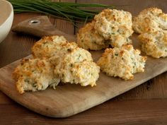 Biscuits with Parmesan, Cheddar, and Chives