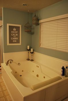 Add Beadboard And Trim Around Jacuzzi Tub Bathrooms