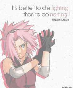 You go girl. You ignore those haters. Your awesome Sakura (ok maybe not in the beginning but in Shippuden yes)