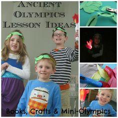 Greek Olympics Lesson Ideas For Kids - Teach Beside Me