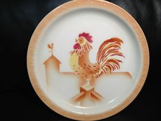 Syracuse China Rooster Plate
