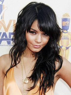 Vanessa Hudgens - Click image to find more Hair & Beauty Pinterest pins