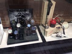 Custom in store display at @GalioJewellers #womw #watches