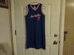 NBA LA Clippers VINTAGE Jersey Dress by Reebok, Women's size Medium #Reebok #LosAngelesClippers