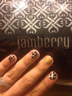Leopard Manicure #LeopardJN #CityLightsJN #jamminwithalyssa #jamberrynails