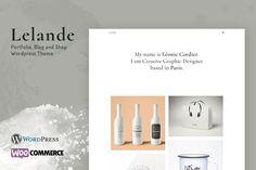Lelande - Wordpress Portfolio Theme @creativework247