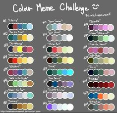 color psychology and color therapy Skin Color Palette, Palette Art, Drawing Challenge, Art Challenge, Colour Schemes, Color Combos, Color Palette Challenge, Color Psychology, Psychology Facts