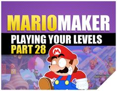 27 Best Super Mario Maker Gameplay Wii U images in 2016