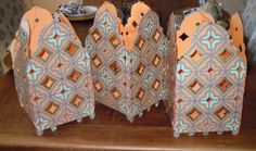 Lanterns Set of 3 Tabletop Centerpiece or by SimplySweetNothings, $19.00
