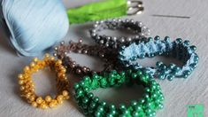 How To Make Beaded Crochet Bracelets - DIY Style Tutorial - Guidecentral