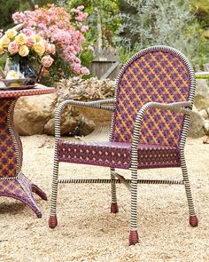 What a beautiful outdoor chair! | outdoor furniture | patio furniture | garden chair | garden furniture | #ad