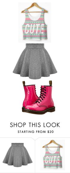 """""""Untitled #115"""" by taaywhitee on Polyvore featuring Dr. Martens"""