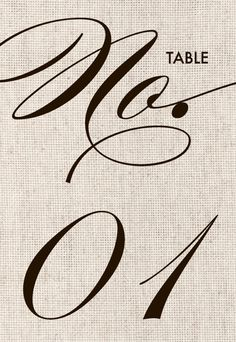 Burlap table numbers  Instant Download DIY by MidwestDesign
