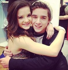 nick and brooke their so cute together !!!!