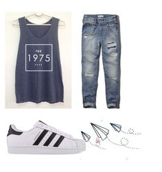 """By @thuglife2001"" by julia3smith on Polyvore featuring Abercrombie & Fitch and adidas Originals"