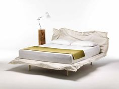 Big Hug by Mogg / Be surrounded by what you created and modelled as you wish. This is the feature of the bed Big Hug / Design by Claudio Bitetti /   www.mogg.it  #mogg #moggdesign #BigHug #ClaudioBitetti #Bed #Letto #ComeVuoiTu #Interior #Design