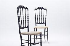 Italian Chiavari Chairs from Fratelli Levaggi, Set of 2 2