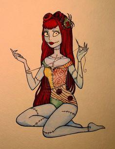 Sally - The Nightmare Before Christmas by ~KittehFae on deviantART